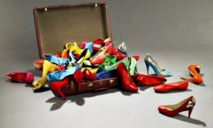 coleção de sapatos