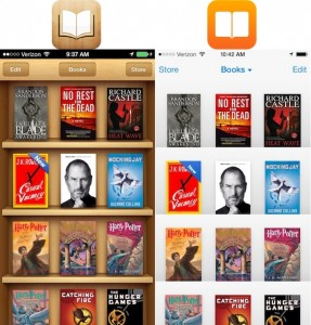 Ibooks no IOS 6 X IOS 7